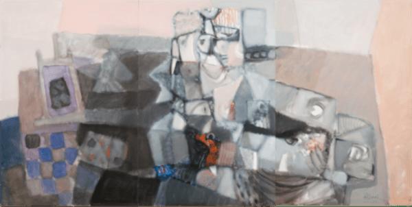 Delo akademskega slikarja Bonija Čeha. Triptih