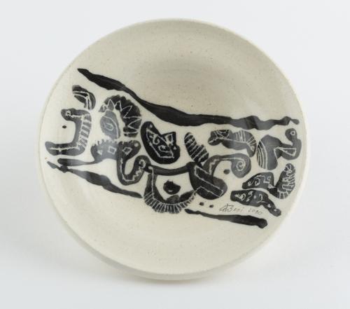 Delo akademskega slikarja Bonija Čeha. Keramika